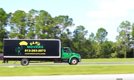 Moving truck on a Long Distance Move